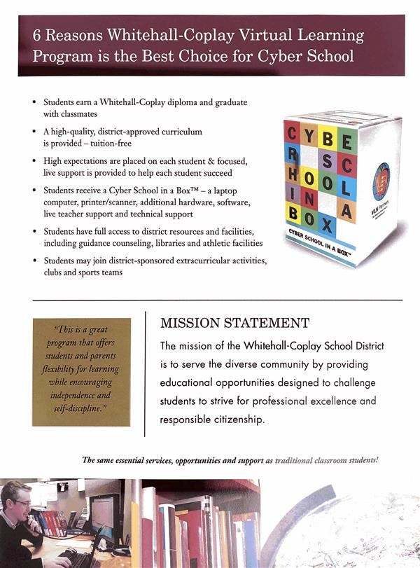 Virtual Learning Program Brochure