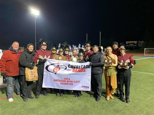 Marching Zephyr Band: Cavalcade of Bands Champions