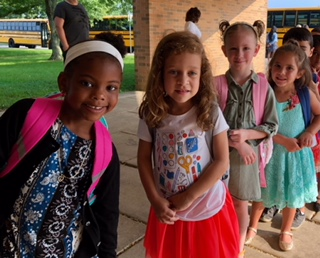 Gockley Students First Day of School